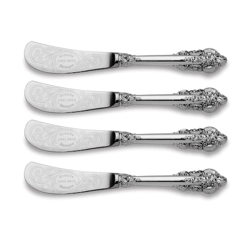 Wallace Grande Baroque 75th Anniversary 4 Piece Spreader - Silver