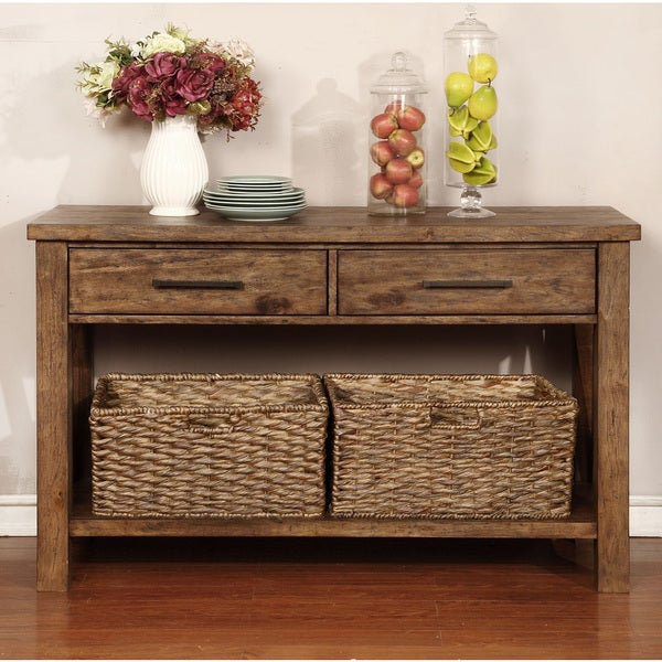 Coaster Company Weathered Brown Server Buffet