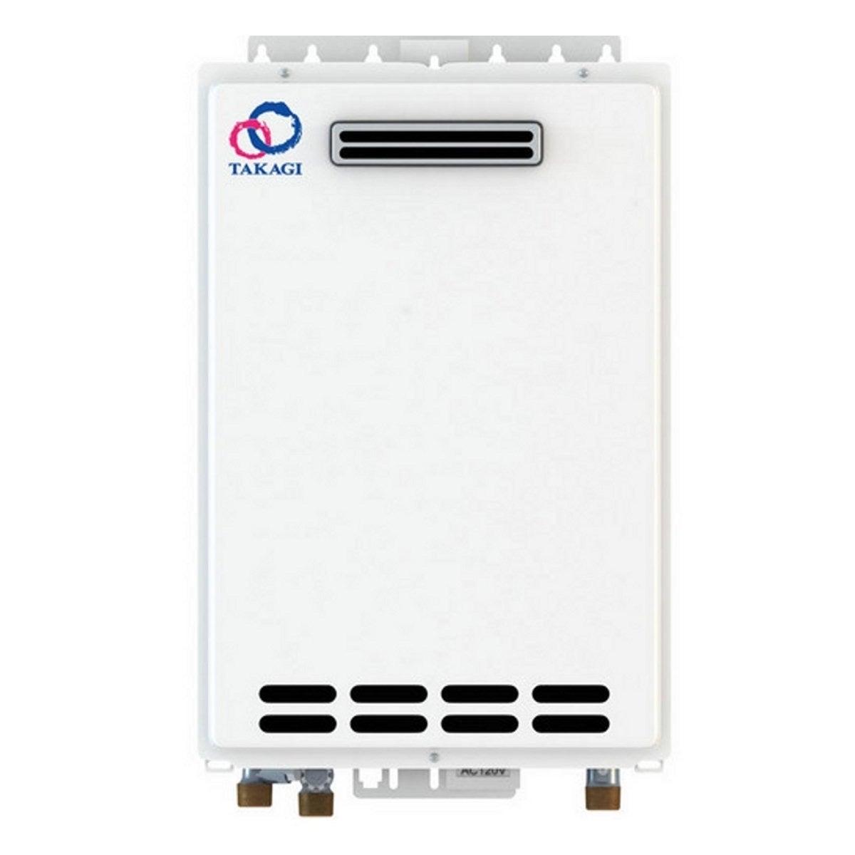 TAKAGI T-T-KJr2-OS-LP Outdoor Tankless Water Heater Propa...