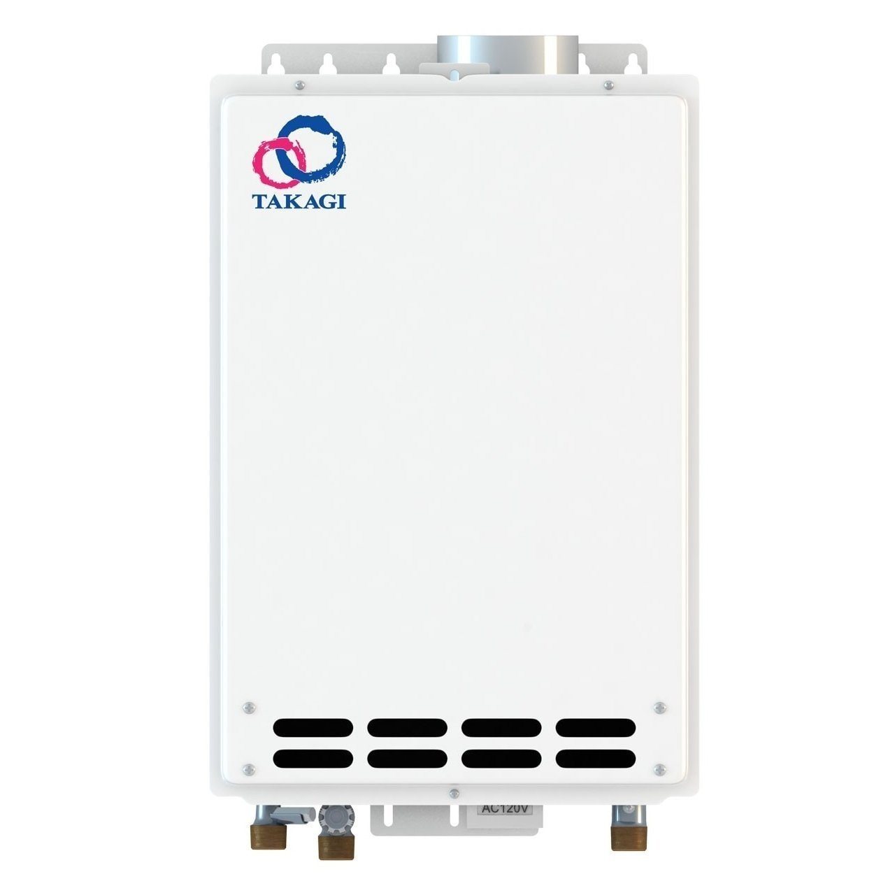 TAKAGI T-KJr2-IN-NG Indoor Tankless Water Heater Natural ...