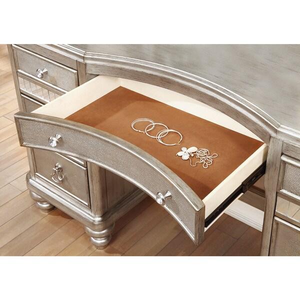 Coaster Company Silver Wood Vanity Free Shipping Today