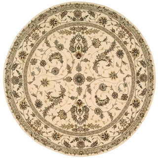 Nourison Renaissance Ivory Area Rug (5'9 Round)