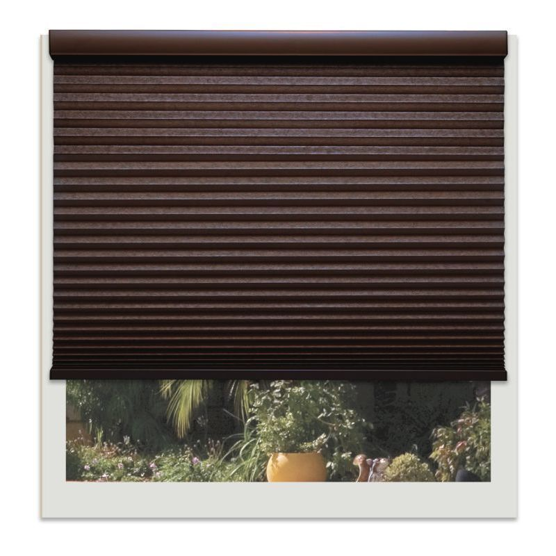 Linen Avenue Custom Cordless Chocolate 22- to 23-inches W...