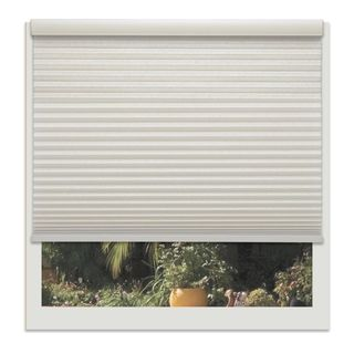 Linen Avenue Custom Cordless Seashell 34- to 35-inches Wide Light FIltering Cellular Shade