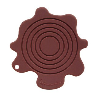 Epicureanist Silicone Splat Coasters (Set of 4, 16 Coasters)