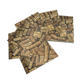 Epicureanist Cork Napkins 16 Packs