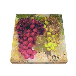 Epicureanist Vineyard Napkins-16 Packs