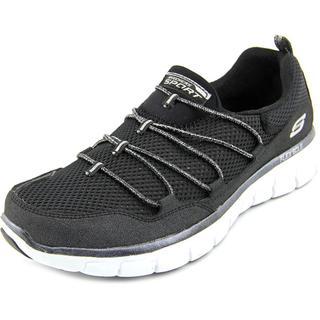 Skechers Women's Synergy-Sparkle and Shine Black Basic Textile Athletic Shoes