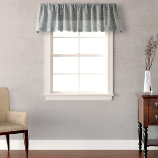 Laura Ashley Ardleigh Blue/Green Cotton Window Valance