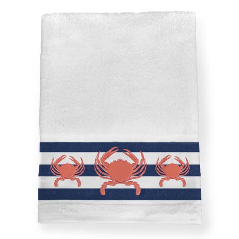 Laural Home Crab Trio Bath Towel