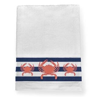 Laural Home Crab Trio Bath Towel