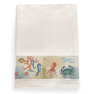 Laural Home Sea Creatures Bath Towel