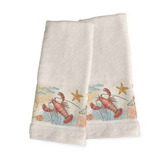 Laural Home Sea Creatures Hand Towel