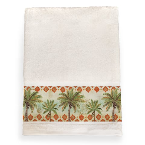 Laural Home Vintage Palm Bath Towel