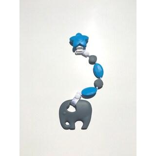 SillyMunk Elephant Silicone Teething Clip