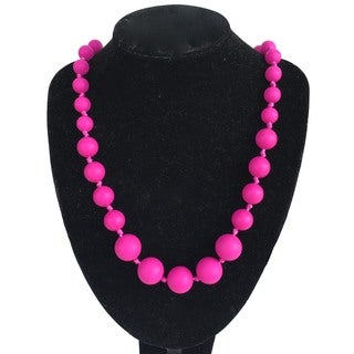 SillyMunk 9-inch Silicone Teething Necklace