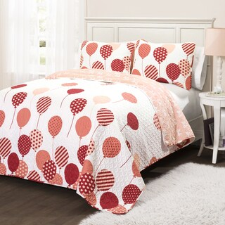 Lush Decor Flying Balloon 3-piece Quilt Set