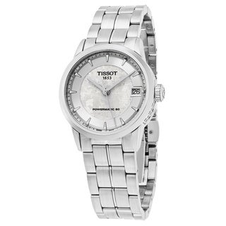 Tissot Women's T086.207.11.031.10 'Jungfraubahn' Silver Dial Stainless Steel Swiss Automatic Watch