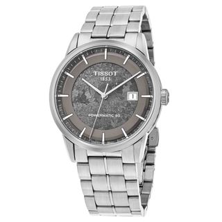 Tissot Men's T086.407.11.061.10 'Jungfraubahn' Grey Dial Stainless Steel Swiss Automatic Watch