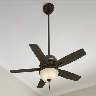 Hunter Fan Donegan Collection 44-inch Ceiling Fan With Light Kit|https://ak1.ostkcdn.com/images/products/12480554/P19283963.jpg?impolicy=medium
