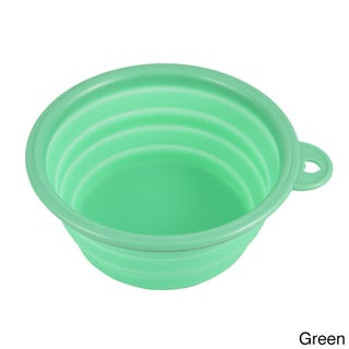 Petcessory Pet Collapsible Silicone Travel Bowl (5 options available)