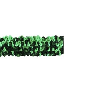 Jungle Green 1.5-inch Sequin Trim