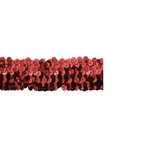 Red 1.5-inch Sequin Trim (10 Yards)
