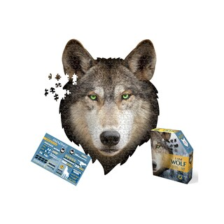 Madd Capp Puzzles I am Wolf 550-piece Jigsaw Puzzle