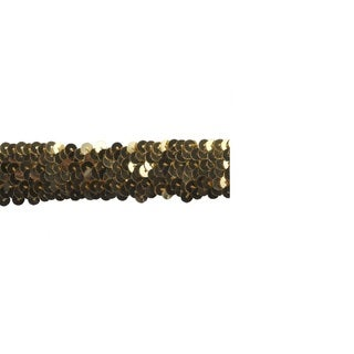 Gold 1-inch Sequin Trim