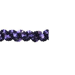1-inch Purple Sequin Trim