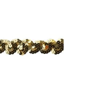 1-inch Gold Sequin Trim