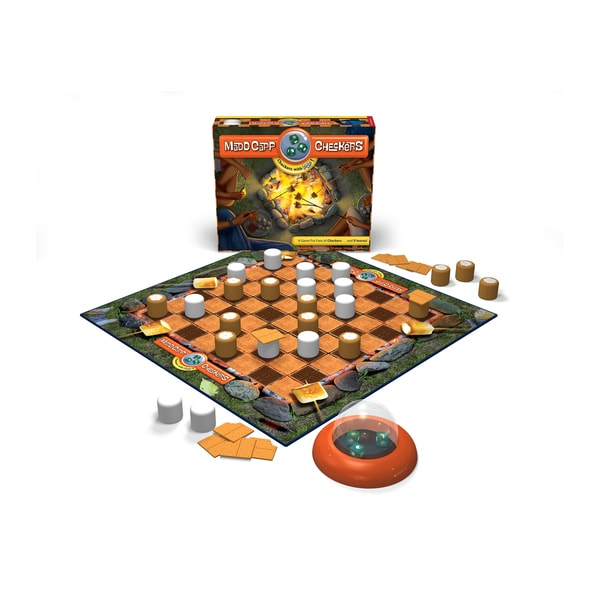 Madd Capp S'mores Edition Checkers Set