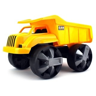 Velocity Toys Children's Super-powered Battery-less Construction Dump Truck Toy