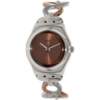 Swatch Women's Irony Stainless Steel Quartz Watch