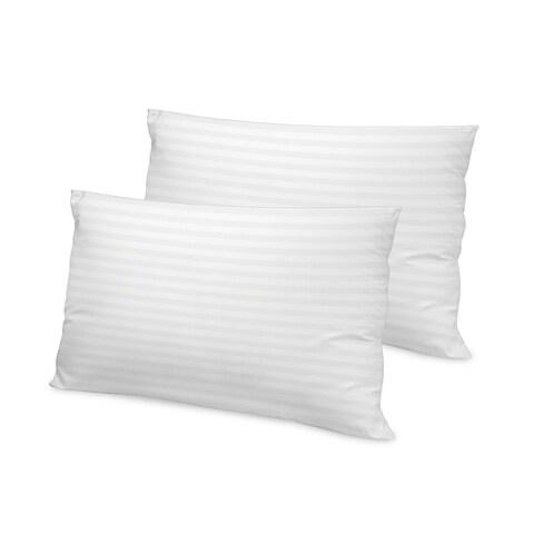 SwissLux Tencel 500 Thread Count Down Alternative Pillows (Set of 2)