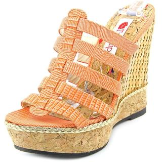 Two Lips Women's Ambrosia Orange Synthetic Sandals