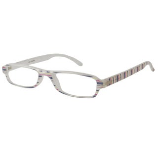 Calabria Readers White Reading Glasses