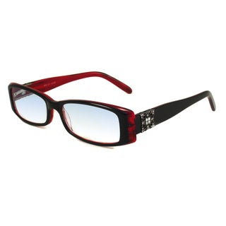 Calabria Readers Black With Red Reading Glasses