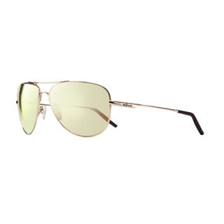 Revo Men's RE 3087 04 CH Windspeed Sunglasses with Gold Frames and Champagne Serilium Lenses