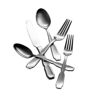 Hampton Forge Argent Collection Stainless Steel 45-piece Pinched Flatware Set