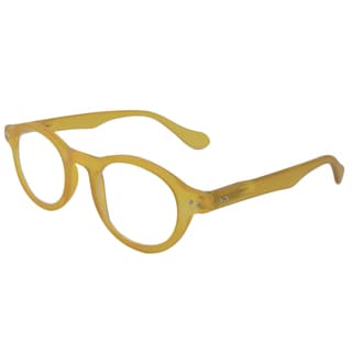 Computereyed Round Yellow Reading Glasses