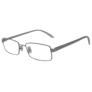 Calvin Klein Readers Square Silver Reading Glasses