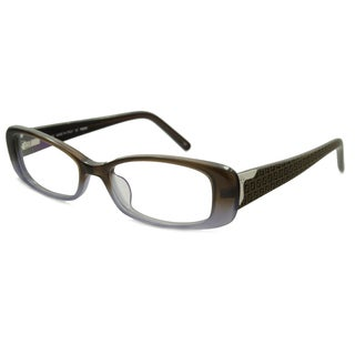 Fendi Readers Square Brown Gray Reading Glasses