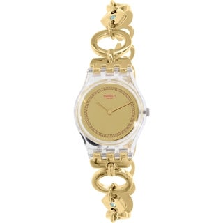 Swatch Women's Originals Gold Stainless-Steel Swiss Quartz Watch
