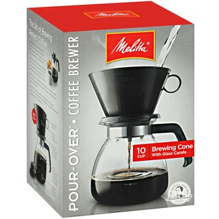 Melitta 640616 10 Cup Black Coffee Maker