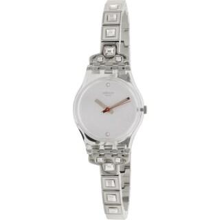 Swatch Women's Originals Silver Stainless Steel Quartz Watch