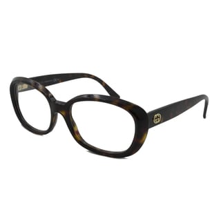 Gucci Readers Square Havana Reading Glasses