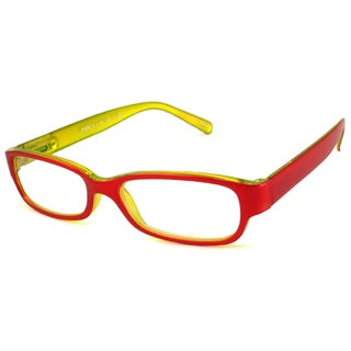 Nvu Eyewear Red Reading Glasses
