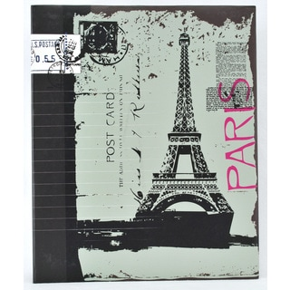 Pinnacle Eiffel Tower 4-up Ring-bound Photo Album