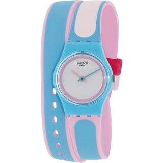 Swatch Women's Originals Blue Silicone Swiss Quartz Watch